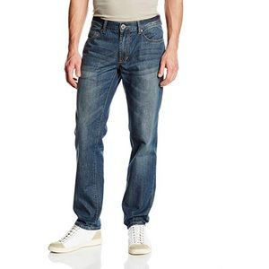 DKNY | Men's Bleecker Straight Jeans Grey Dust